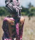 Angel top backless
